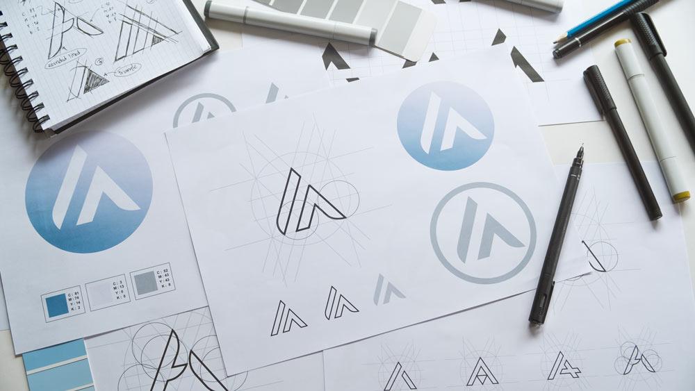 Création de logo par un graphiste professionnel