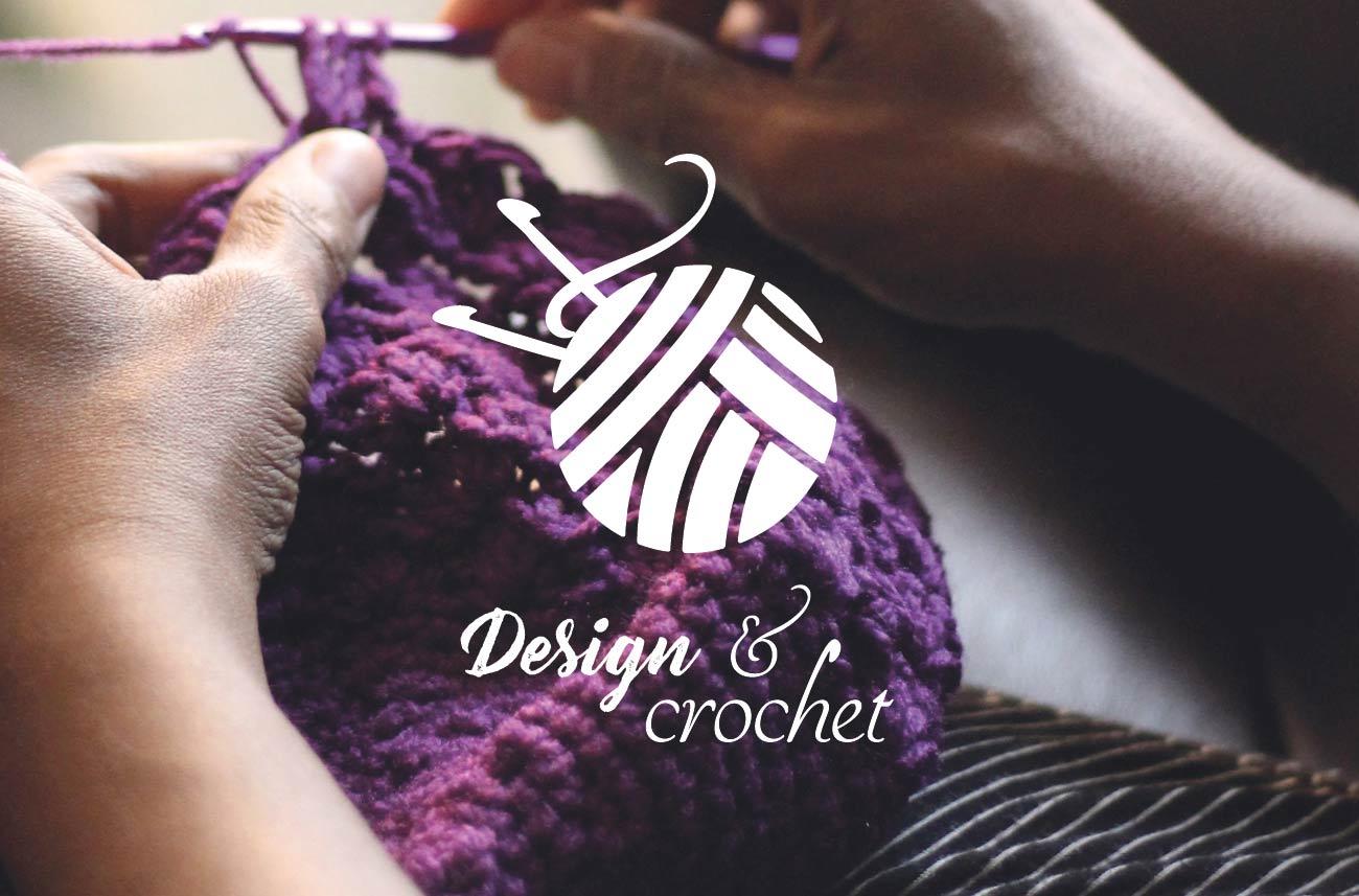Logo et cartes de visite Design & crochet