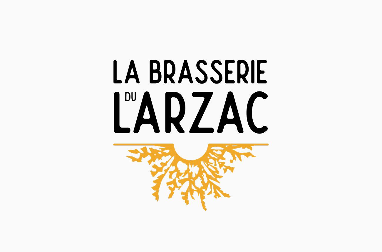 Logo de la Brasserie du Larzac (Sud Aveyron)