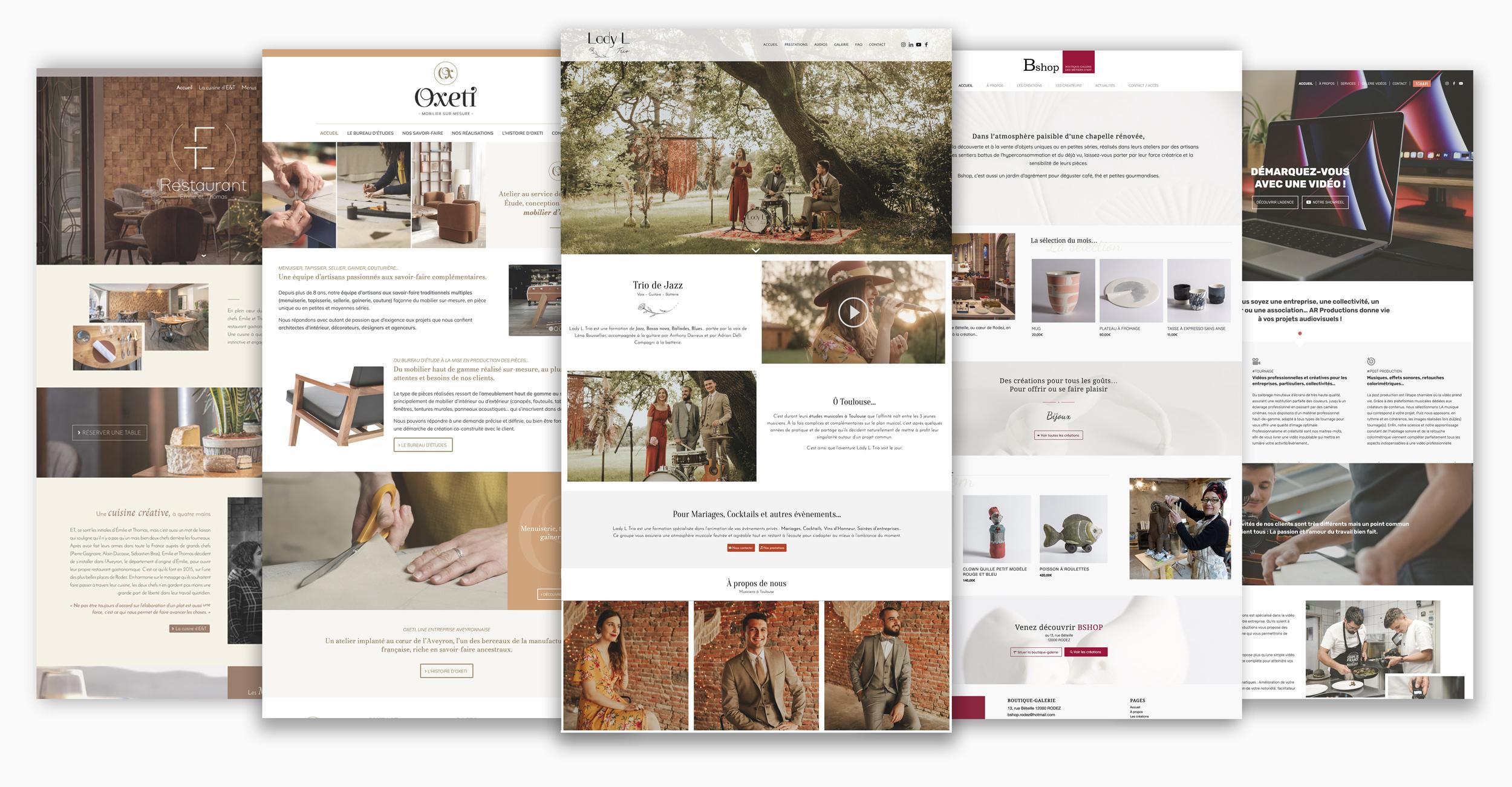 Création de site internet - Webdesign à Rodez