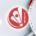 Logo du CBR, Club Badminton Rodez